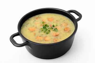 Potato soup - Kartoffelsuppe