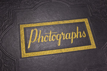 A Wonderful Old Leather Bound Photograph Album