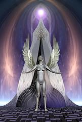 Angel - Computer Artwork