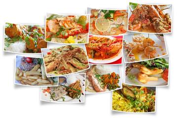plats cuisinés, poisson, crustacés, fruits de mer