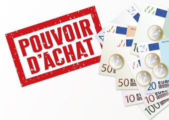 POUVOIR D ACHAT_Euros