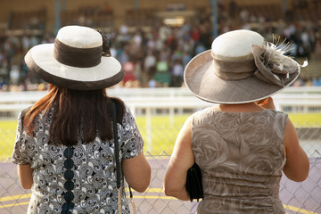 ladies at the races