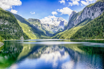 Canvas Prints Bestsellers Gosausee