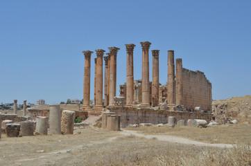 Antique Temple in Jerash - Jordan