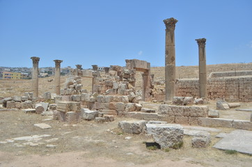Antique ruins - Jerash