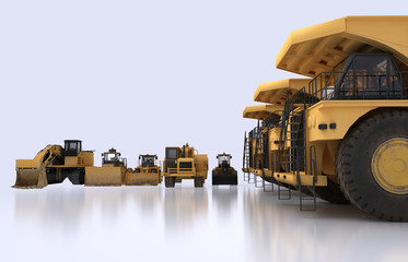 earth mover vehicles