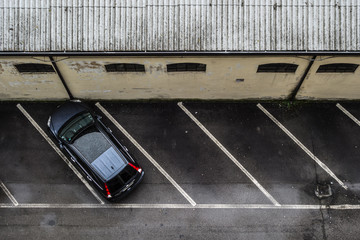 Parking alone