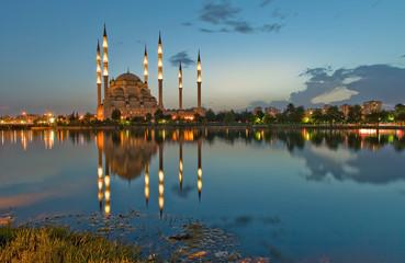 adana mosque reflection