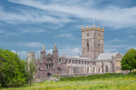 St. Davids Cathedral, Wales, UK