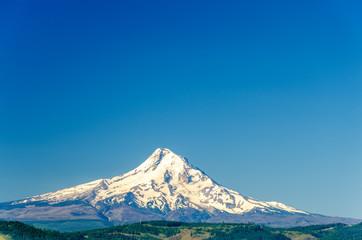 Mt. Hood and Blue Sky