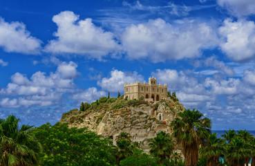 Wall Mural - Tropea Italy Castle