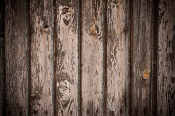 old wooden plank wall