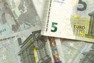 Euro Bills - 5