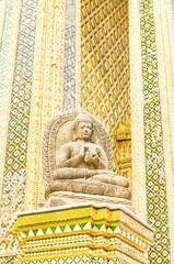 Buddha image at Wat Phra Kaeo in Bangkok