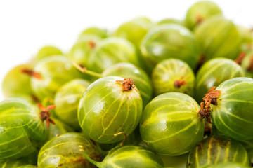 gooseberries isolated