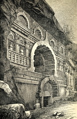 Chaitya in Pandavleni Caves (Nashik, India)