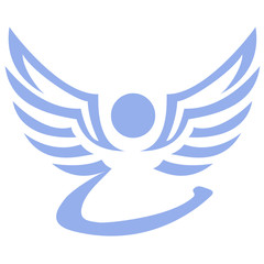 Engel als Logo