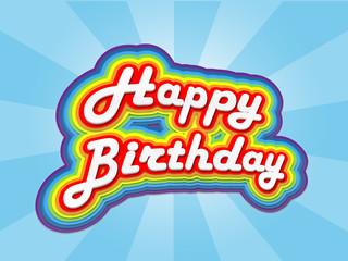 """HAPPY BIRTHDAY"" Card (celebration party fun congratulations)"