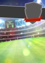 Soccer sport background