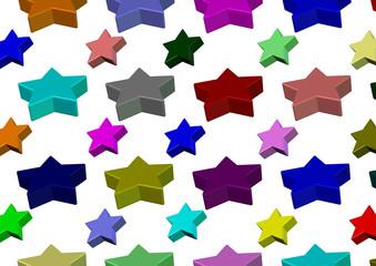 renkli yıldızlar