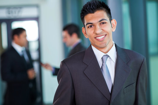 modern middle eastern businessman