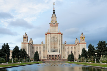 building of Moscow State University