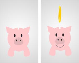 pig piggy spare