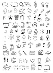 Doodle icons