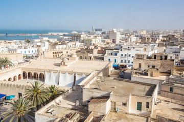 Keuken foto achterwand Tunesië old houses in medina in Sousse, Tunisia