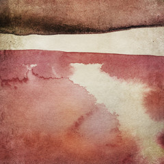 Vintage paper background with watercolors