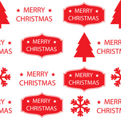 vector seamless pattern Christmas