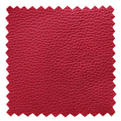 red leather samples texture