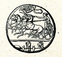 Arethusa decadrachm coin from Syracuse