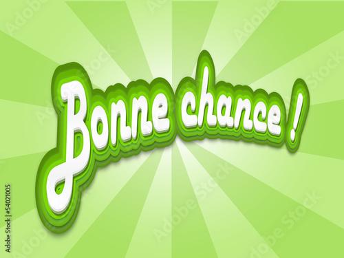 Carte Bonne Chance Succès Réussite Message Félicitations