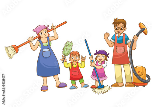 children and housework Single men with no children did about eight hours of housework a week, while married men with no children did a bit more than seven hours of housework a week.