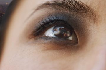 Smoky Eye Close-Up
