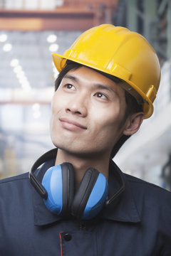 Portrait of Young Engineer