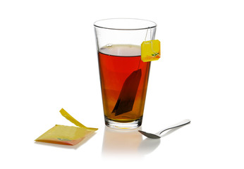 verre de thé