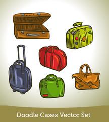 Doodle cases set