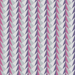 Autocollant pour porte ZigZag abstract geometric pattern