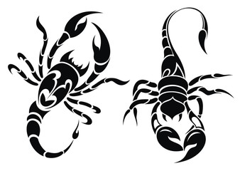 Scorpion tattoo design