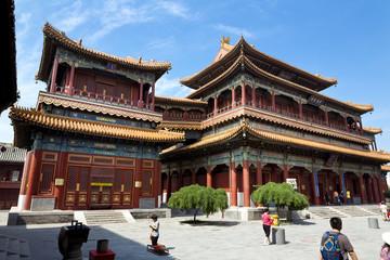 Fotorollo Beijing Beijing, Lama Temple - Yonghe Gong Dajie