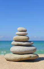 Balanced stones, zen