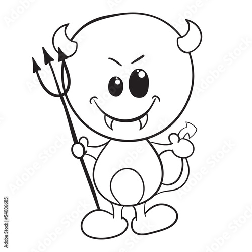 cute easy halloween coloring pages - photo#36