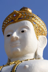The head of Buddha Image
