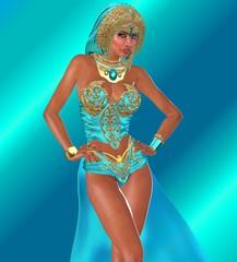 Ocean Goddess Staring
