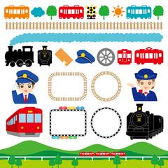鉄道展 鉄道フェア イベント 広告 イラスト