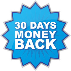 30 DAYS MONEY BACK ICON