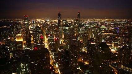 Fototapete - Chicago skyline