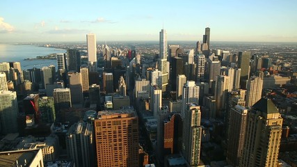 Fototapete - Chicago skyline